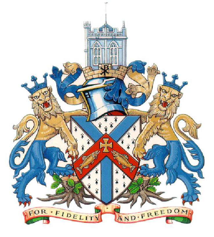 Christchurch Town Council Coat Of Arms