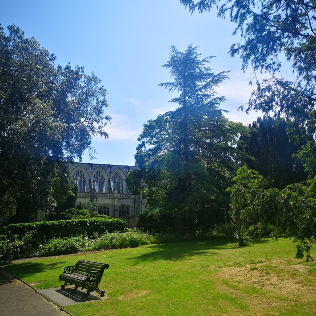 Christchurch Priory Gardens And Surrounding Green Space